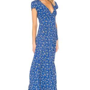 NWT AMUSE SOCIETY Summer Safari Dress - BLUE COAST